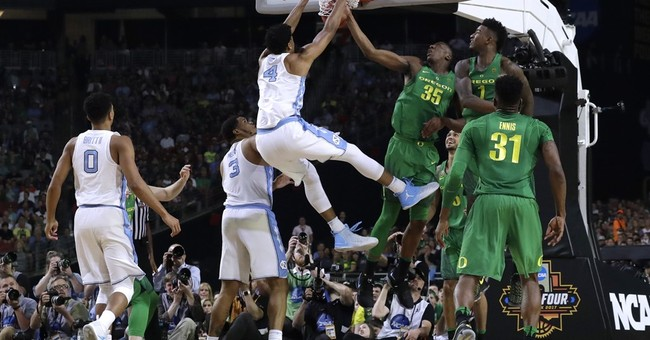 Meeks shoots, and rebounds, and saves the day for Tar Heels