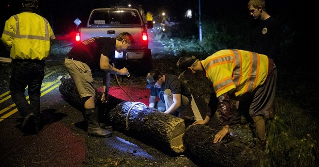 Cleanup begins after severe weather strikes Virginia Beach