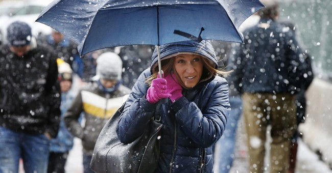 No joke: Snow hits northern New England on April Fools' Day