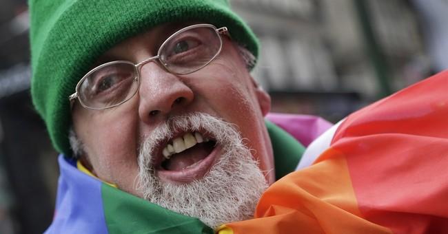 The Latest: Creator of rainbow flag died of heart disease