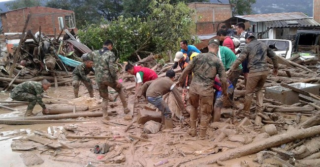 The Latest: Death toll rises to 193 in Colombia disaster