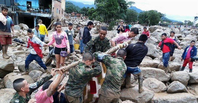 Colombia: 193 dead after rivers overflow, toppling homes