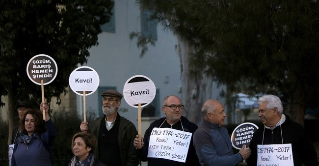 Cyprus leaders: More work needed to restart peace talks