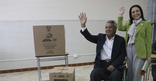 Leftist Moreno heading to disputed win in Ecuador election