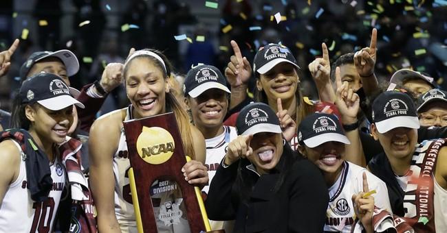 South Carolina wins 1st national title, beats Miss St 67-55