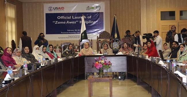 Pakistan sets up unique helpline for women in need
