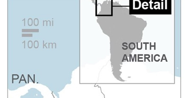 The Latest: Death toll rises to 207 in Colombia avalanche
