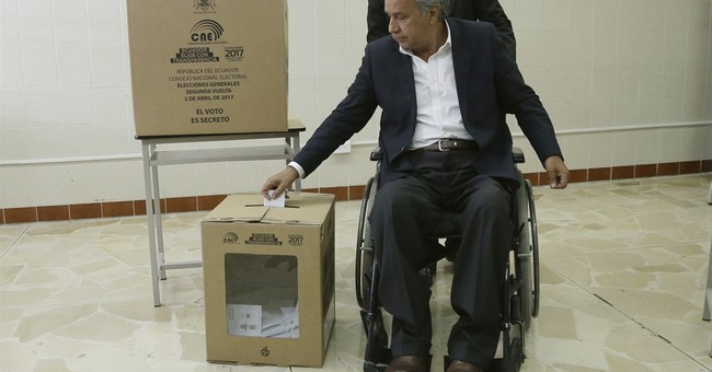 The Latest: Protests in Ecuador over election results