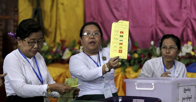 Suu Kyi's party retains some support in Myanmar, loses some