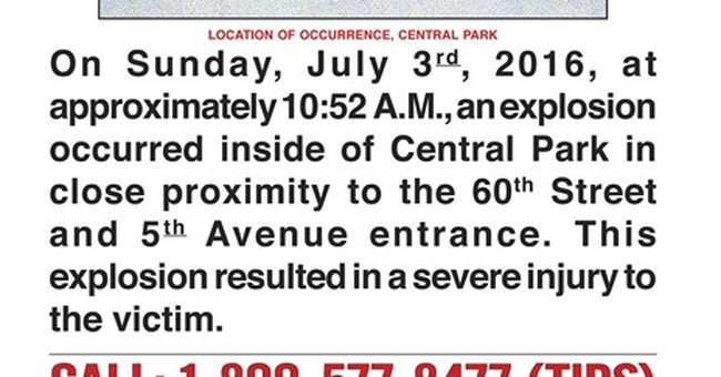 Nearly 9 months later, Central Park blast remains a mystery