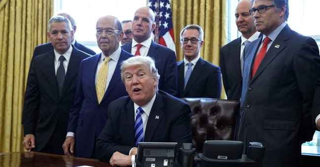Trump plugs away at his central goal: undoing Obama's work