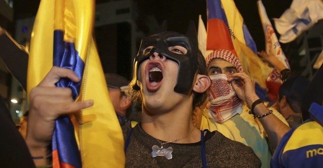 Protests rattle Ecuador following election fraud claims