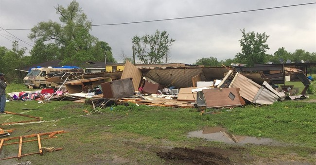 The Latest: Weather agency confirms tornado in Louisiana
