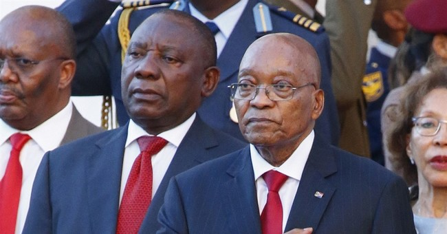 South Africa's Zuma says government disputes are damaging