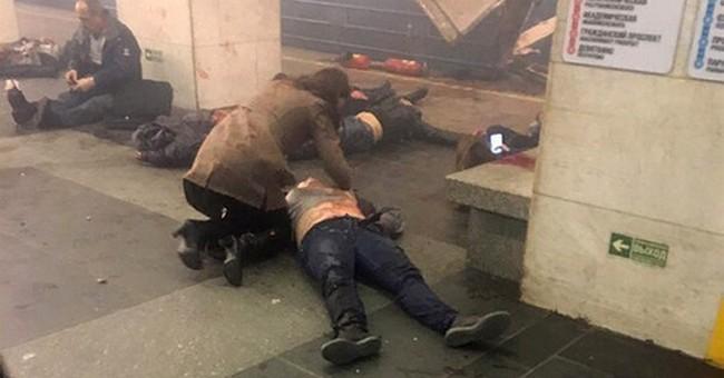 The Latest: Trump calls Putin to offer condolences for bomb
