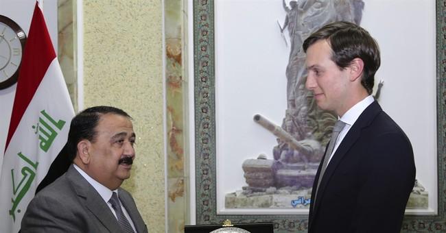 Kushner, Dunford meet with Iraqi prime minister