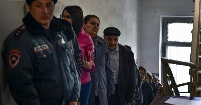 President's party wins Armenian parliamentary vote