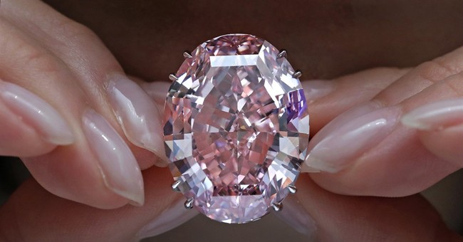 Pink diamond fetches record $71.2M in Hong Kong auction