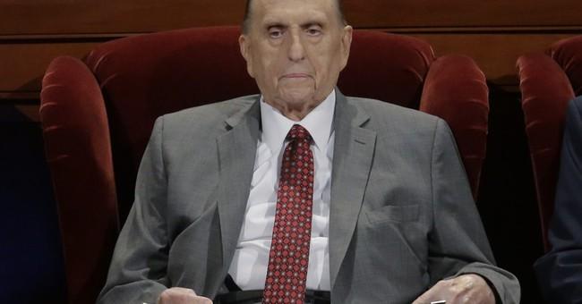 President of Mormon church hospitalized in Salt Lake City