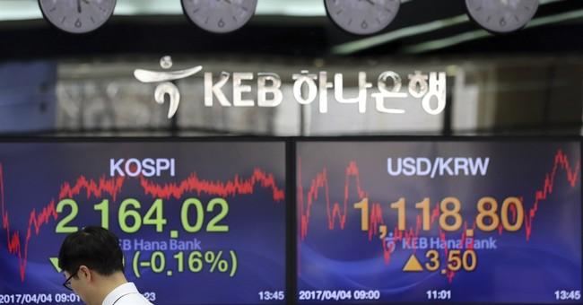 Global shares mixed ahead of US-China talks