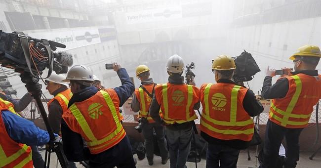The Latest: Seattle mayor touts 'construction milestone'