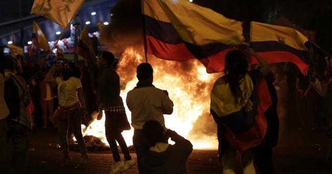 Ecuador prosecutors search polling firm following election