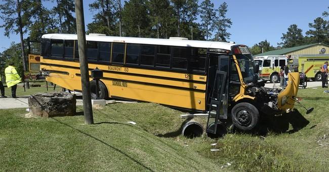 School bus crash sends 23 children, 1 adult to hospitals