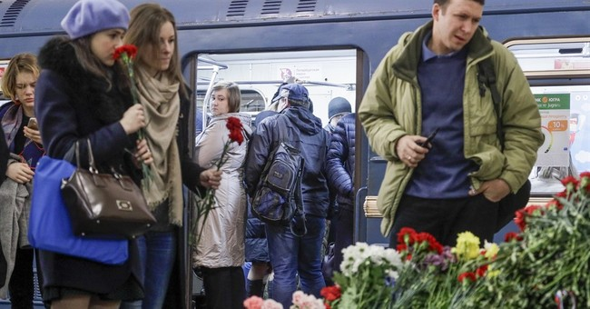 Police arrest 7 in wake of St. Petersburg subway bombing