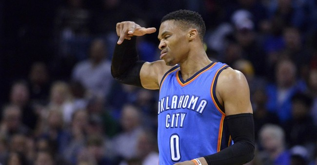 Fans appreciate Westbrook's energy during his historic run