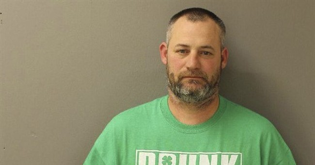 Man in Drunk Lives Matter shirt charged with drunken driving