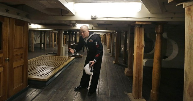USS Constitution to return to water after latest restoration