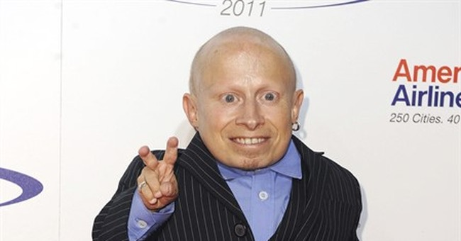 Verne Troyer says he's being treated for alcohol addiction