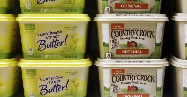 Butter days ahead? Another sign of margarine's slide