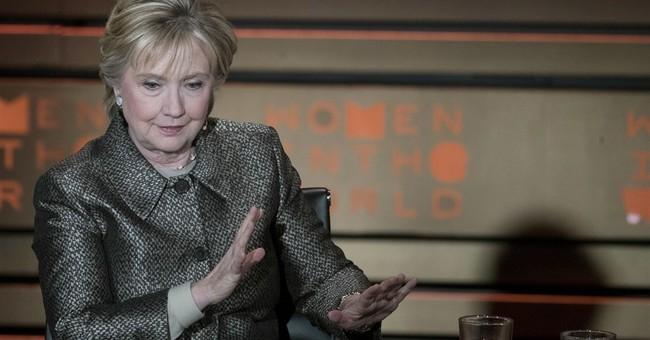 Hillary Clinton attends 'War Paint' musical on Broadway