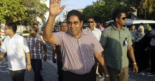 Maldives opposition party leader arrested for alleged plot