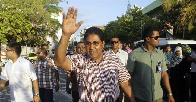 Maldives opposition party leader arrested for alleged plot