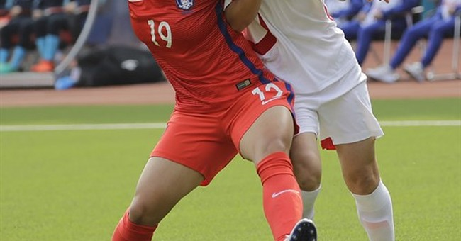 Sports no path to peace as the 2 Koreas face off in soccer