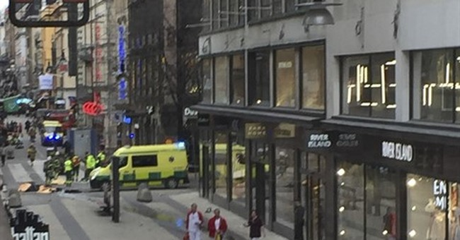 Stolen truck kills 4 in Stockholm;  Sweden calls it terror