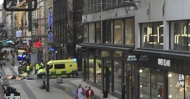 Stolen truck kills 4 in Stockholm;  Sweden calls it terror