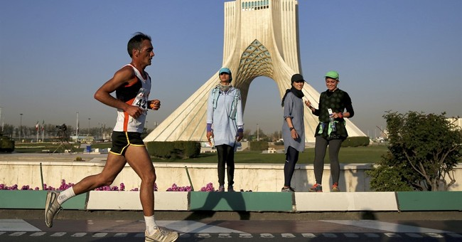US runners largely absent at Tehran's first marathon