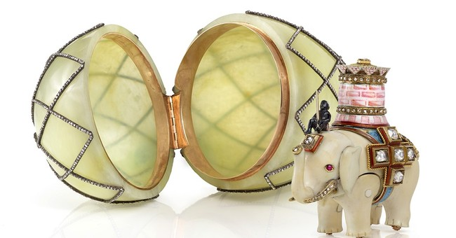 Faberge egg reunited with its missing 'surprise' in Texas