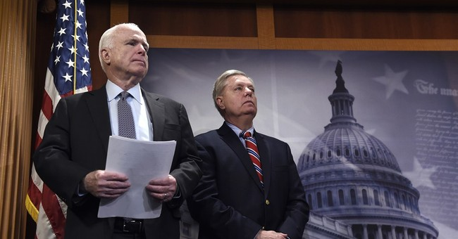 The Latest: Pelosi says Congress should debate Syria action