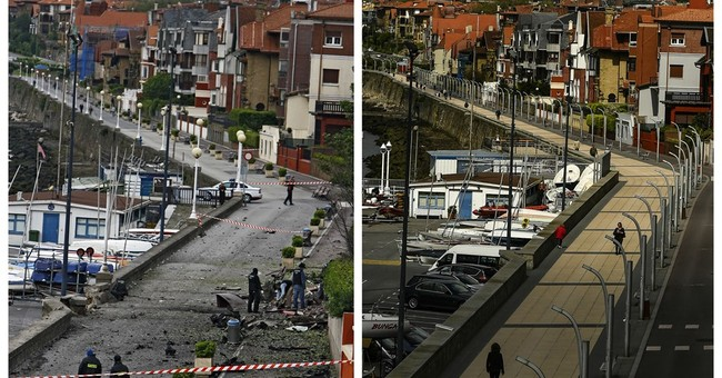 AP PHOTOS: Photographer revisits scenes of ETA violence