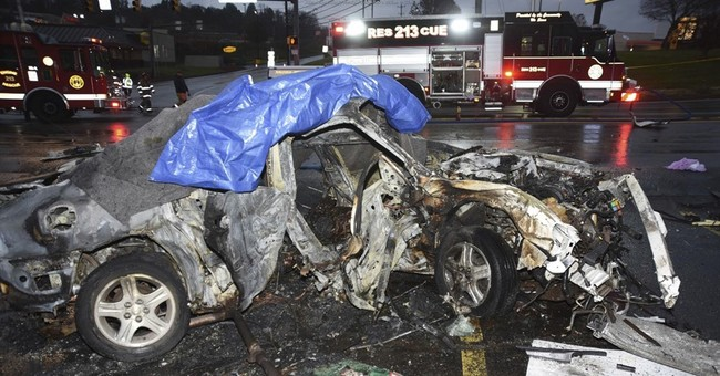 Cops: Driver who killed 3 in chase traveling at least 82 mph