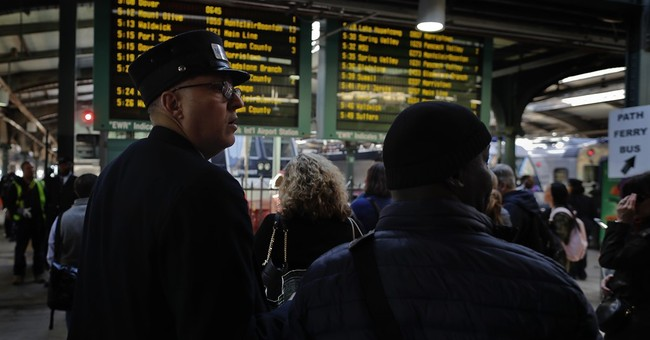 Penn Station train tracks fixed - just not in time for morning rush