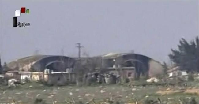 US strike on Syrian air base has limited impact on Assad