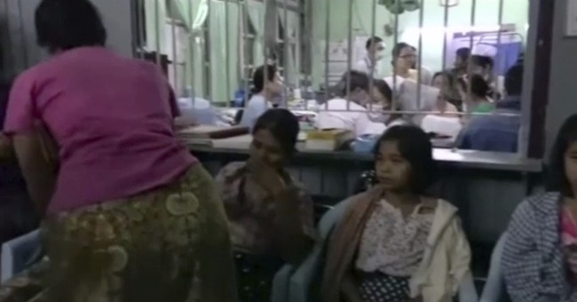Myanmar ferry capsizes; 20 dead, over a dozen missing