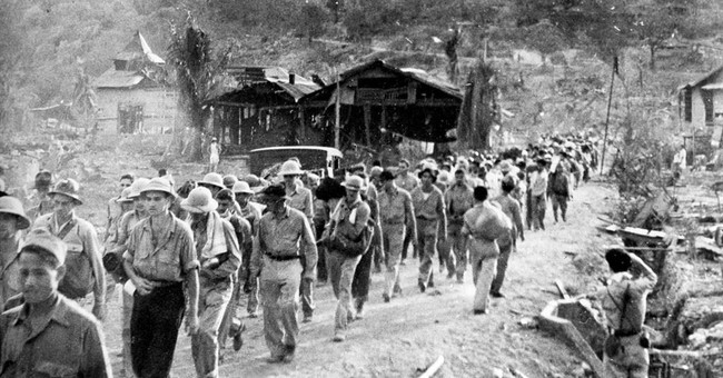 Filipino Bataan Death March survivors mark 75th anniversary