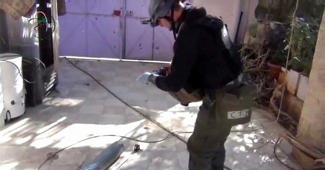 Q&A: Who has chemical weapons in Syria?