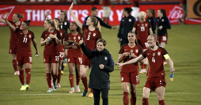 Female athletes get a trio of wins in equality fight